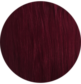 "20"" CLIP IN HAIR IN MAHOGANY RED #530"